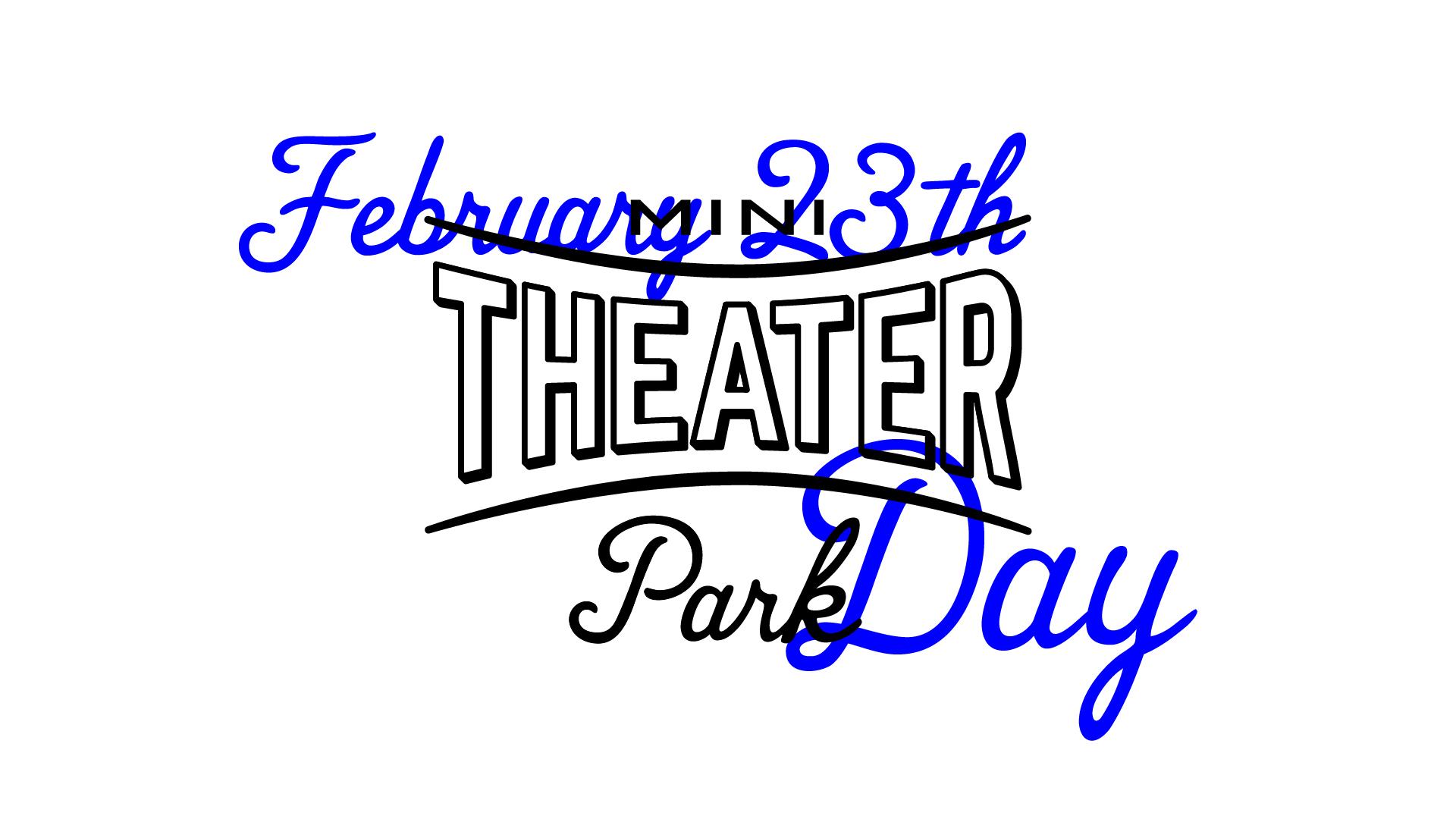 2月23日(火)14:00 O.A.<br>「Mini Theater Park DAY」ツイキャス生配信!